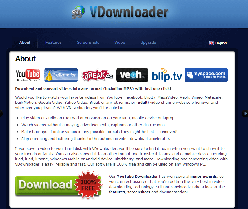 facebook video downloader software