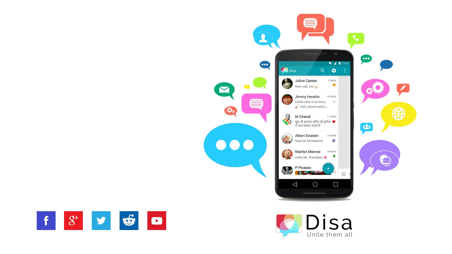 Dias messaging app for Android