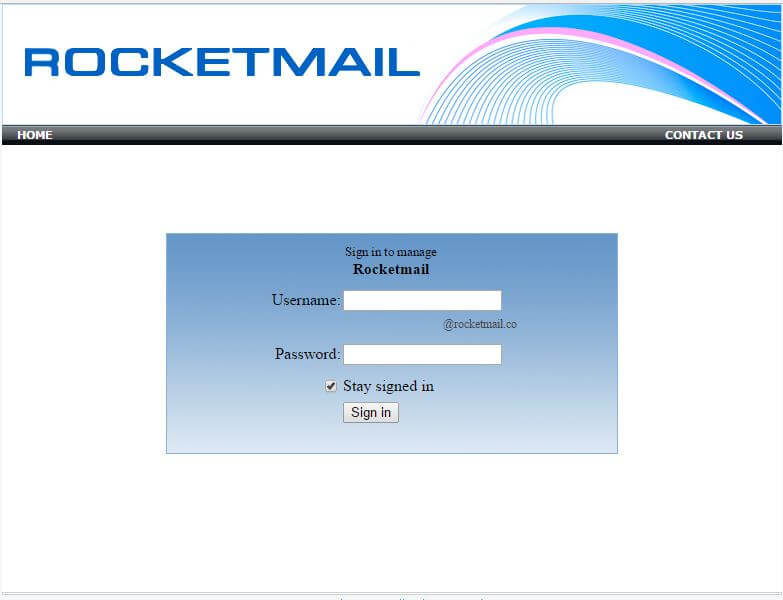 Create Rocketmail account | rocketmail.co