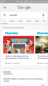 AMP by Mashable